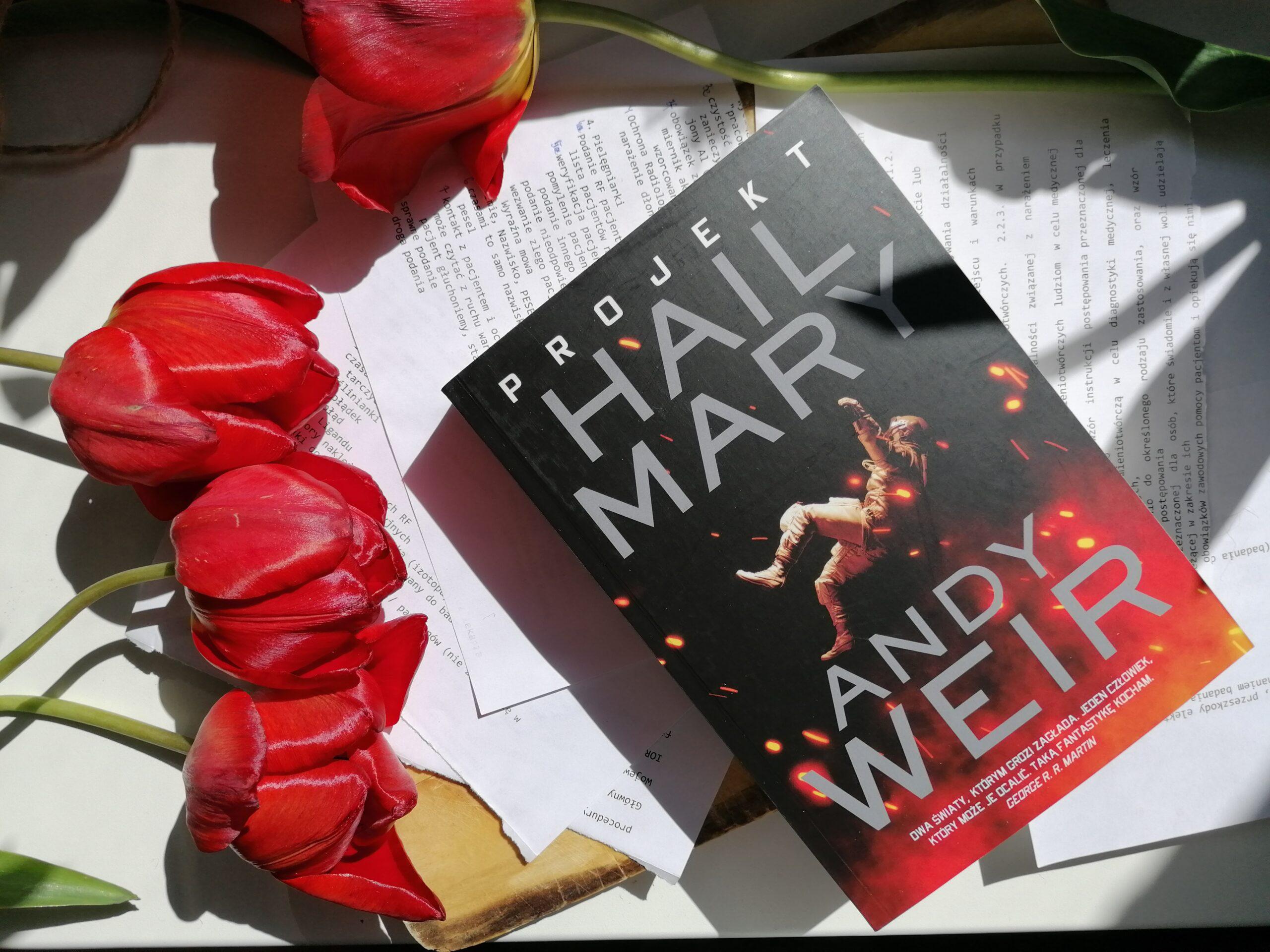 Recenzja: Projekt Hail Mary - Andy Weir