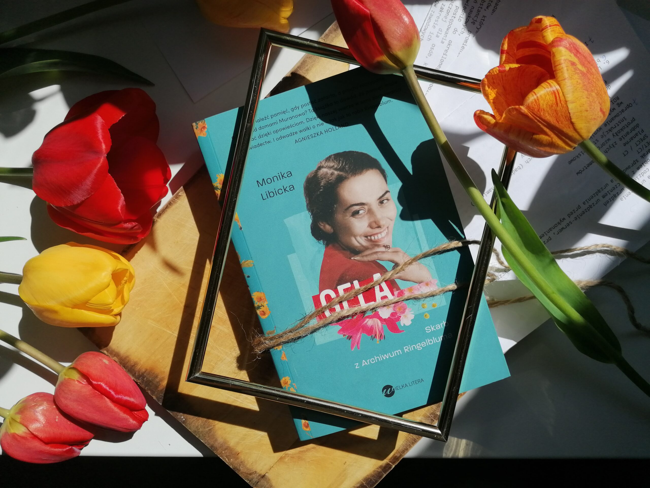 Recenzja: Gela. Skarb z Archiwum Ringelbluma - Monika Libicka